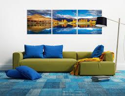 wandbilder golden bay