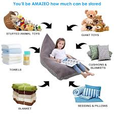 Amazon.com: Eurobuy Stuffed Animal Bean Bag Chair, Storage ... 12 Best Stuffed Animal Storage Bean Bag Chairs For Kids In 2019 10 Best Bean Bags The Ipdent Top Reviews Big Joe Chair Multiple Colors 33 X 32 25 Giant Huge Extra Large 3 Ft Rated Bags Helpful Customer Amazoncom Acessentials Vinil And Teens Yellow Of Your Digs Believe It Or Not Surprisingly Stylish Beanbag
