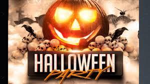 Free Printable Scary Halloween Invitation Templates by Halloween Party Flyer Template Free For Photoshope Youtube