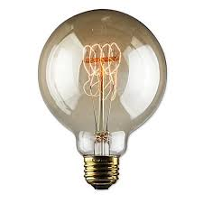 loop g30 globe antique bulb 30w at 120volt and 60w at