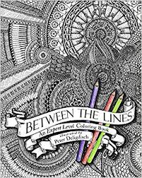 Amazon Between The Lines An Expert Level Coloring Book 9781495337116 Peter Deligdisch Books