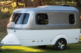 100 Pictures Of Airstream Trailers No More Metal Launches Fiberglass Nest Camper