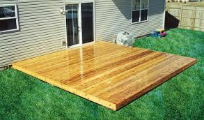 Menards Cedar Deck Boards by 16 U0027 X 16 U0027 Freestanding Patio Deck At Menards