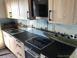 küchenspritzschutz spiegelfliesen küchenrückwand glas