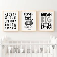 Superhero Room Decor Australia by Nursery Wall Art Prints Baby Boys U0026 Girls Kids Bedroom Decor