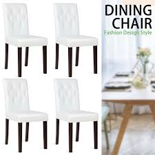 Details About 4pcs Kitchen Dining Chairs Leather Cushion Side Chairs  W/Sturdy Wood Legs White Piece Ding Set Light Chairs Red And Table Wicker Rooms Cream Upholstered Padded Kitchen With Amazoncom Solid Oak Room Of 2 Sturdy 7 Woodespresso Fniture What Is The Best Place To Buy Cheap But Sturdy Fniture Wooden Kids And Eertainment Chairs White Mcmola Case 50kitchen Side Better Homes Gardens Maddox Crossing Chair Brown Details About Of Wood Black Traditional Wing Back Ash Barley Velvet Fabric Parson Room Table 4 In Ch5 4wl Connahs Quay For