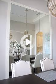 salle à manger miroir mural chambre frills et forets