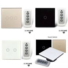 eu panel smart touch wall light switch 1 2 3 1 way with