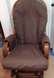 Free Ship - Glider Rocker Slip Cover FOR YOUR Glider Cushions - Chocolate  Brown Slipcover Standard Size Only Includes Padded Arm Recpro Charles 30 Rv Recliner Swivel Glider Rocker Chair Euclid Wooden Como Delta Children Blair Slim Nursery Taupe Clair Outsunny Patio Rocking 2 Person Outdoor Loveseat Garden Fniture Bench Pu Leather Kenwood French Grey Walmartcom Chairs Gliders Kohls Harriet Yabird Baby