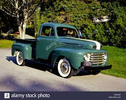 100 Build Ford Truck 1950 F47 Pick Up Canadian Stock Photo 54165593