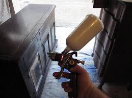 Hvlp Sprayer For Kitchen Cabinets by Spraying Annie Sloan Chalk Paint Paint Sprayers U0026 Ascp Houston
