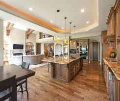 Kitchen Living Room Combo Com Floor Plans Luxury Dining Open Plan Design