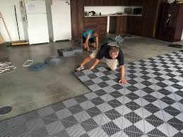 garage floor tile vs epoxy new home design best garage floor tiles