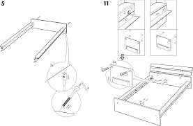 Ikea Hopen Bed by Handleiding Ikea Hopen Bedframe Pagina 8 Van 8 Dansk Deutsch