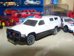 100 Custom Toy Trucks HotWheels 1996 Dodge Ram 1500 Police Truck By