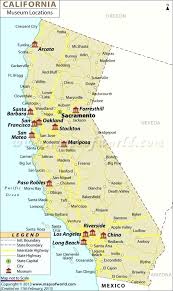 Map With Cities And Counties California Maps