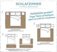 schlafzimmerteppich größe bestimmen teppich schlafzimmer