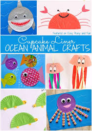 Ocean Animal Crafts Ideas Preschool On Make A Cute Hedgehog Craft Using Fork With Your Kids