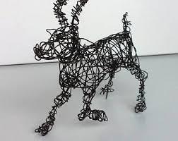Unique Wire Animal Sculpture