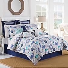 williamsburg barnegat coastal comforter set in blue bed bath