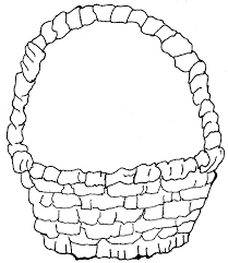 Download Coloring Pages Empty Cornucopia Page Fruit Basket With