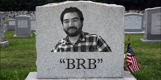 Funny Halloween Tombstones Epitaphs by 7 Funny Tombstone Ideas For The Wittily Deceased Huffpost