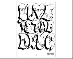 Amazing Name Coloring Pages For Books Graffiti Names To Print That Have On Them Full