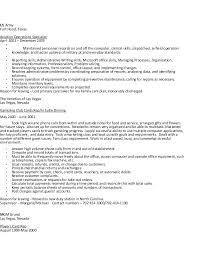 Clerical Skills Resume Sample For Office Job Administrator Examples Doc Mortgage Collections