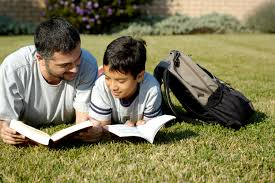 Child Support Services Page Content Image of a father and son