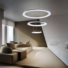 zmh led pendelleuchte kronleuchter ring wohnzimmer esstisch 63w dimmbar fernbedienung moderne hängeleuchte deckenleuchte schlafzimmer höhenverstehbar