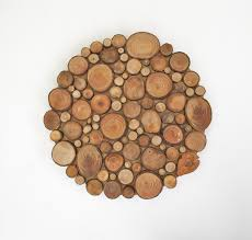 Tree Wall Decor Wood by Rustic Circular Wood Tree Slice Centerpiece Decorative Wall