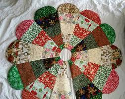 Handmade Christmas Tree Skirt 01