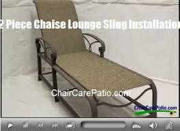 Diy Replace Patio Chair Sling by 17 Best How To Install Patio Furniture Repairs Images On Pinterest