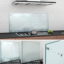 glas küchenrückwand klar oder satiniert inkl