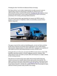 Trucking Jobs New York Endorses Enhanced Driver Screening ... Getting Freight Back On Track Mckinsey Company Progressive Truck Driving School Chicago Cdl Traing State Highway Infrastructure And The Trucking Industry Nexttruck Utah Association Utahs Voice In Americas Foodtruck Industry Is Growing Rapidly Despite Study Safety Health Top Concerns Transportation Top Concerns Facing Today Blog Television 416 Pages Trucker Infographic Information Interesting Press Aria Logistics United States Wikipedia Firms Worried Electronic Logging Device Could Hurt