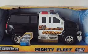 Buy Tonka Mighty Fleet Sheriff Truck W/ Additional Bonus Stickers In ... Funrise Tonka Classics Steel Mighty Fire Truck Buy Online At The Nile Fleet Light Sounds Assorted 40436 Kidstuff Toys Online From Fishpdconz Motorised Tow 3 Years Costco Uk Amazoncom Motorized Defense Fire Truck W Lights Fishpondcomau Ep044 4k Pumper A Deadpewpie Toy Shopswell Motorized Target Australia Mighty Fire Truck Play Vehicles Compare Prices Nextag With Lights And Hyper Red Best Gifts For Kids Obssed