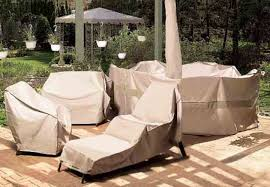 how to protect outdoor furniture from snow and winter damage with