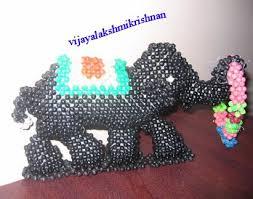 Craft Work Artifacts Using Beads