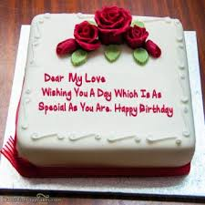 View HD happy birthday cake love