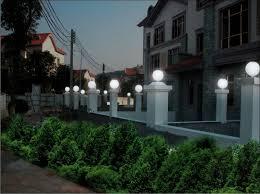uvioresistant acrylic globe lights plastic outdoor light