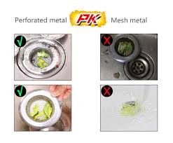 Blanco Sink Strainer Replacement Uk by 2 Pack Sink Strainer Outgeek Stainless Steel Kitchen Sink
