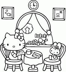 Coloring Pages For Kids To Color Breadedcat Printable Page Sheets Free Cartoons