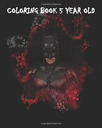 Coloring Book 5 Year Old Batman For Kids Jeffy Jone 9781533061256 Amazon Books
