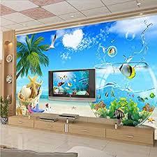 zybnb hohe qualität große wand malerei 3d aquarium meer