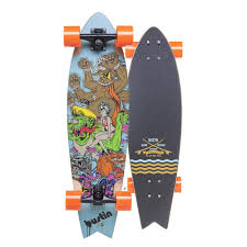 Bustin Boards Fish 32 Kulture Kat Complete Cruiser - 8.8
