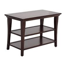 76% OFF - Pottery Barn Pottery Barn Wood Table With Shelves / Tables Holman Shelf Pottery Barn Au Who How To Hang A The Classic For Kids Entryway Bench And Storage Family Room Wall Collage Above The Couch Shelves From Freedom 52 Off Armoire With Glamorous Storage Shelf Shelving Units For Narrow Wall Bookshelf Exceptional Mounted Home Design Ladder Decators Services Made Love And Oats Knock Off Wooden Remodelaholic Turn An Ikea Into Ledge