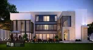 100 Modern Villa Design Saudi Arabia ITQAN2010