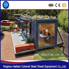100 Warehouse Houses Barbershop Movable Steel Material Cheap Modern Furnished