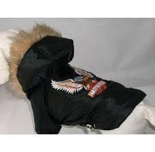 harley davidson dog coat dress the dog clothes for your pets