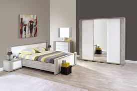 ensemble chambre complete adulte ensemble chambre adulte 5 pièces avec lit 140x200 cm armoire
